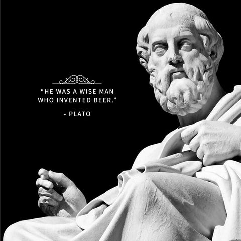 plato beer quote