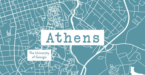 Athens college town and sports fan gifts.
