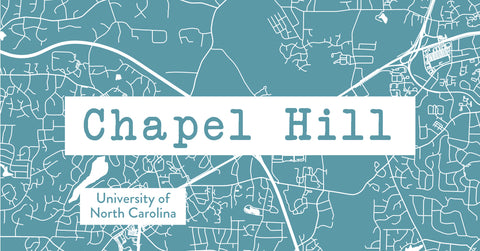 chapel hill map and gifts