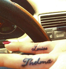 Thelma and Louise Tattoos.