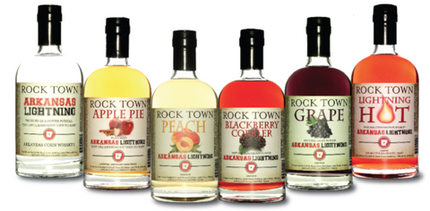 rocktown distillery flavored whiskey