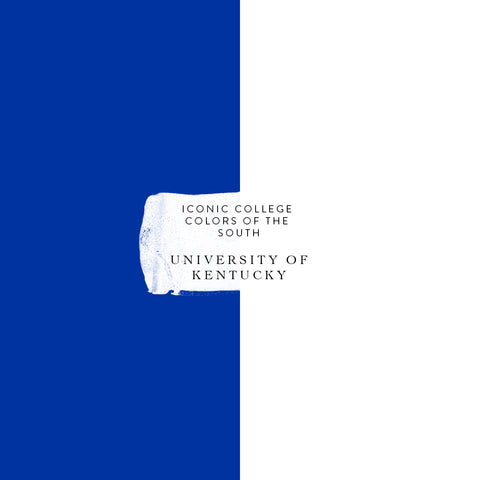 university of Kentucky colors iconic college colors