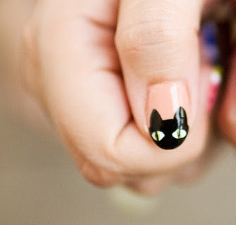 Black Cat Fingernails