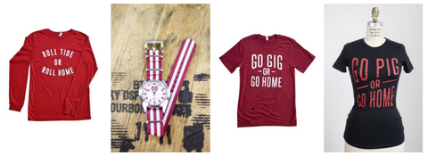 College graduation, back to college, and college sports fan gifts are here.