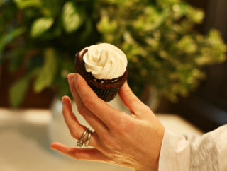The Pie Belle's Irish Coffee Cupcakes