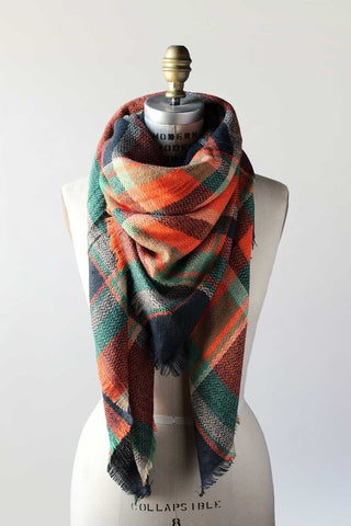 plaid scarf, blanket scarf, oversized scarf, scarves