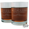 Ernest Hemingway Whiskey Cocktail Glasses (Set of 2) image