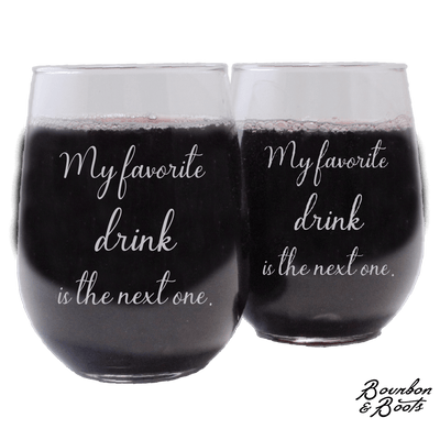 Funny Stemless Wine Glass Sets Just For Moms