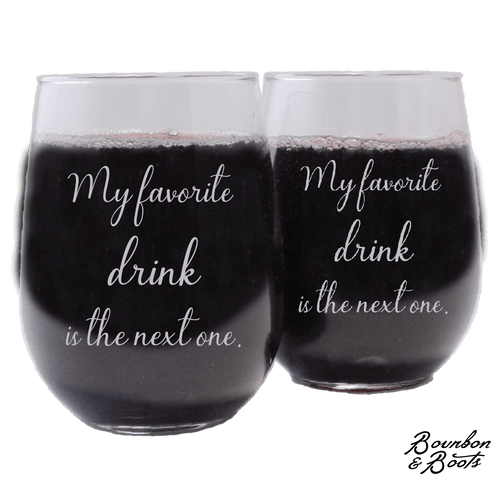 Funny Stemless Wine Glass Sets Just For Moms image