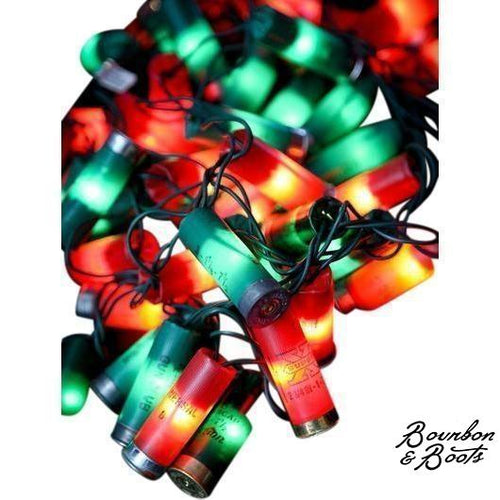 authentic shotgun shell christmas lights image