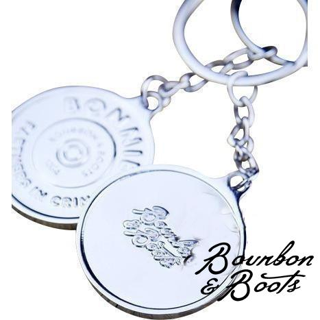 Bonnie and Clyde Couple Keychain image