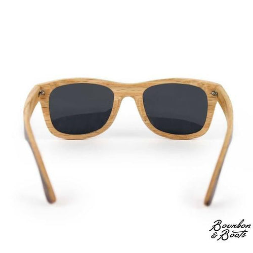 Bourbon Barrel Polarized Wooden Sunglasses image