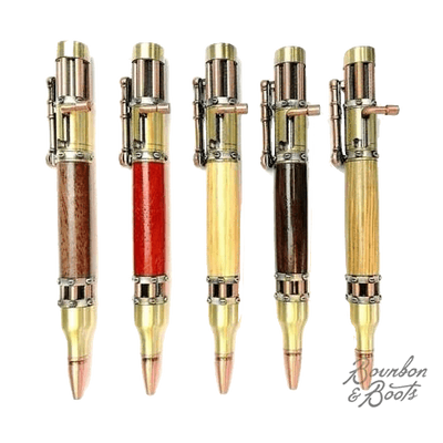 Handmade Exotic Woods Steampunk Pens
