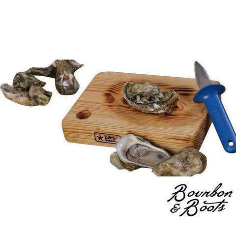 Handmade Oyster Shucking Board