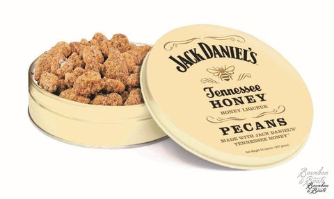 Jack Daniel's (R) Whiskey Honey Pecans, 14oz Decorative Tin
