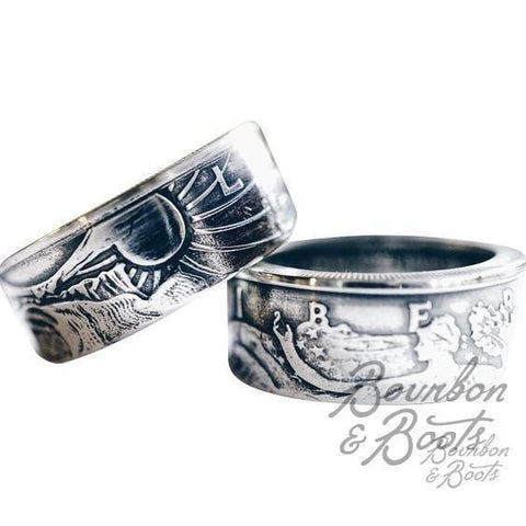 Liberty Half Dollar Coin Ring