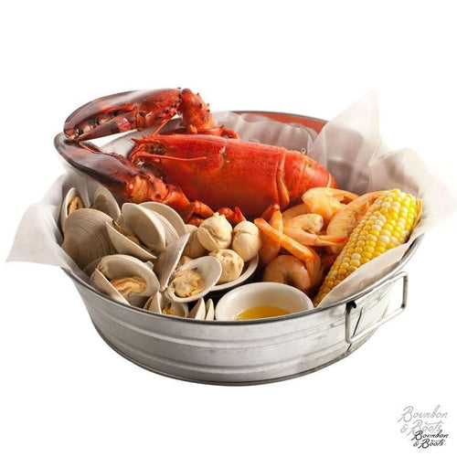 Low Country Galvanized Seafood Boil Tub image