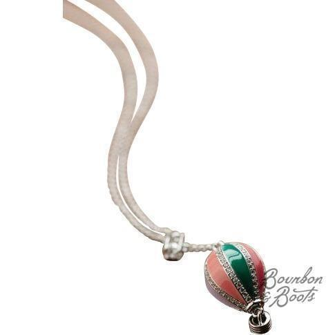 Pastel Hot Air Balloon Necklace image