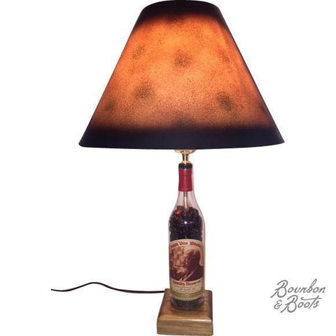Rare Pappy Van Winkle Cult Bourbon Bottle Desk & Table Lamp