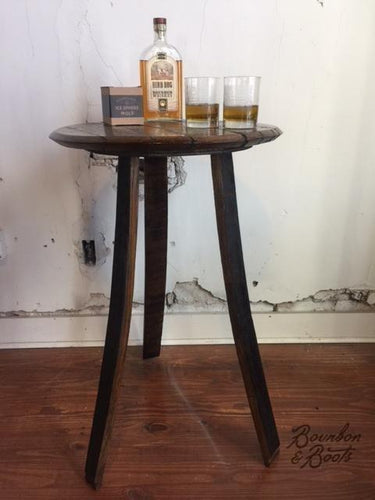 ... Reclaimed Bourbon Barrel Furniture Tables Image