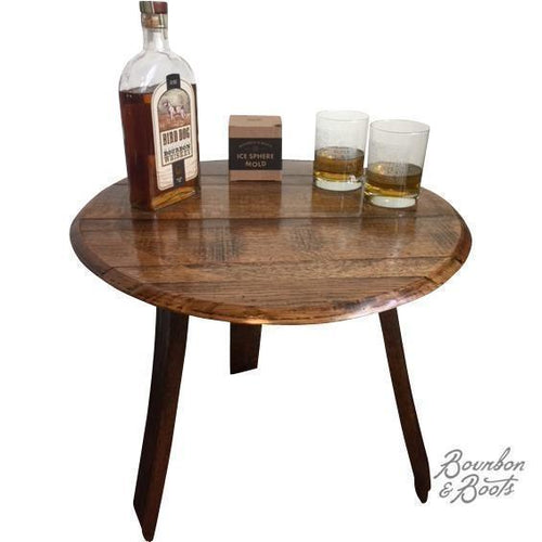 ... Reclaimed Bourbon Barrel Furniture Tables Image ...