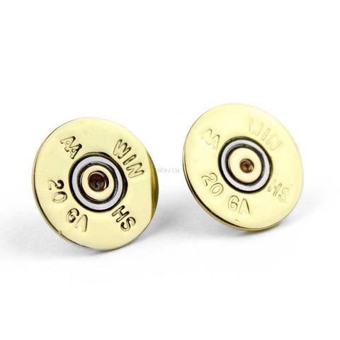 Shotgun Shell 20 Gauge Single Post Earrings