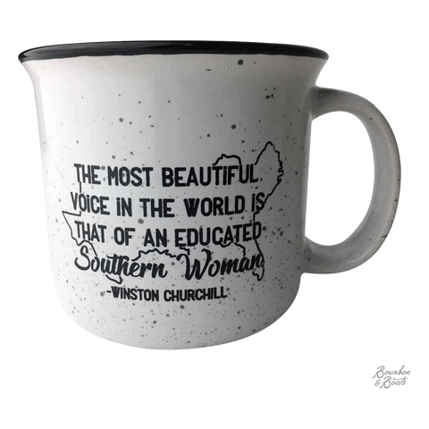 Southern Sayings Campfire Ceramic Coffee Mugs