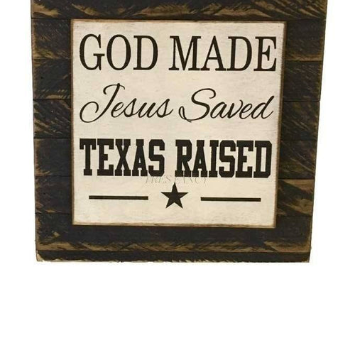 Exceptional Texas Home Wood Sign Wall Decor Image ...