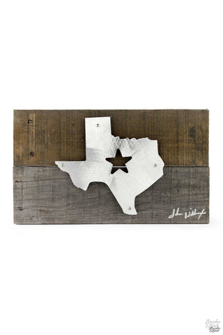 Reclaimed Wood and Metal Wall Art | Page 1