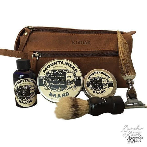Vintage Era Handcrafted Shave Kit