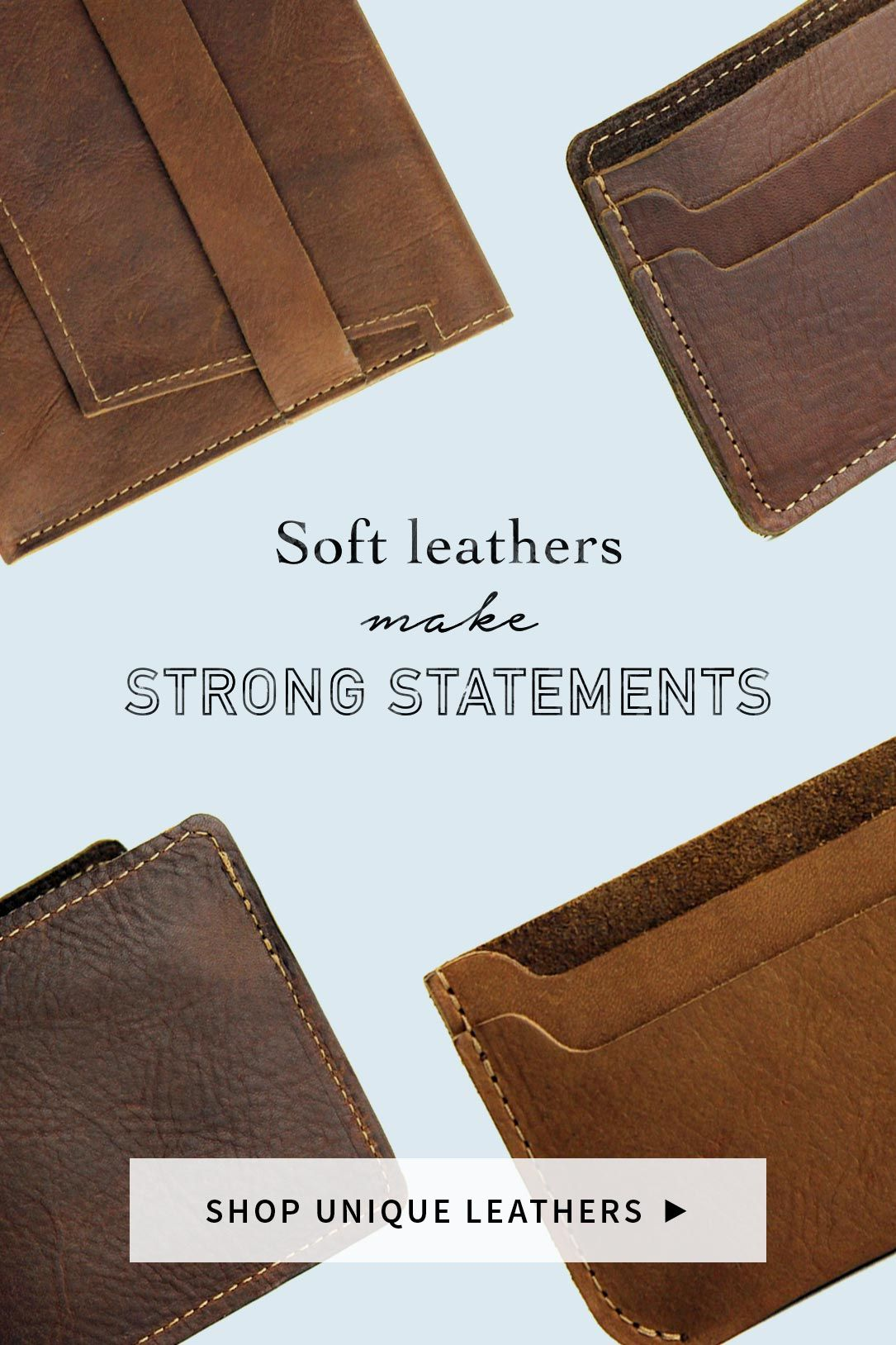 Shop Our Unique Leathers Collection