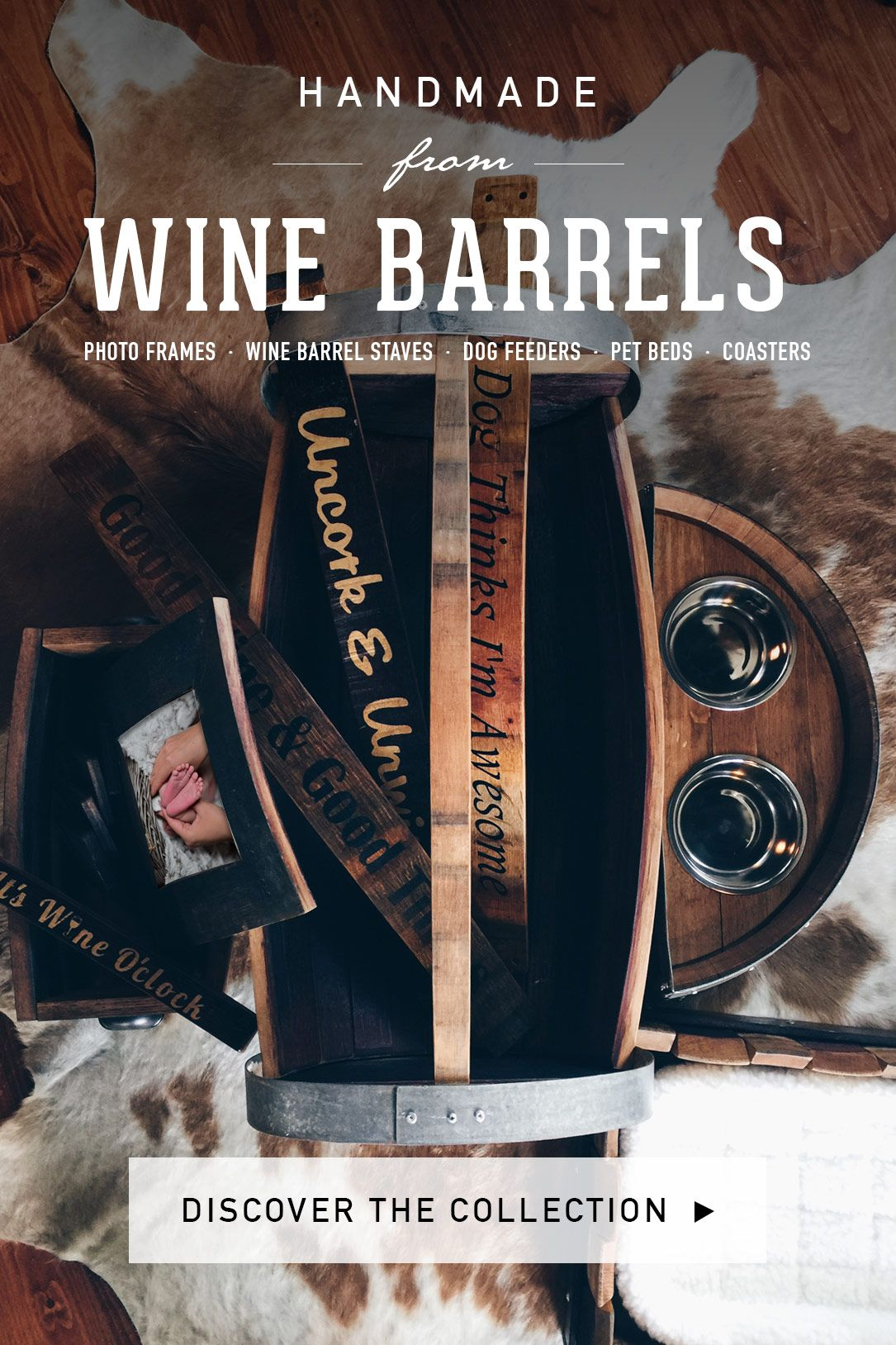 Shop Recliamed Wine Barrel Collection