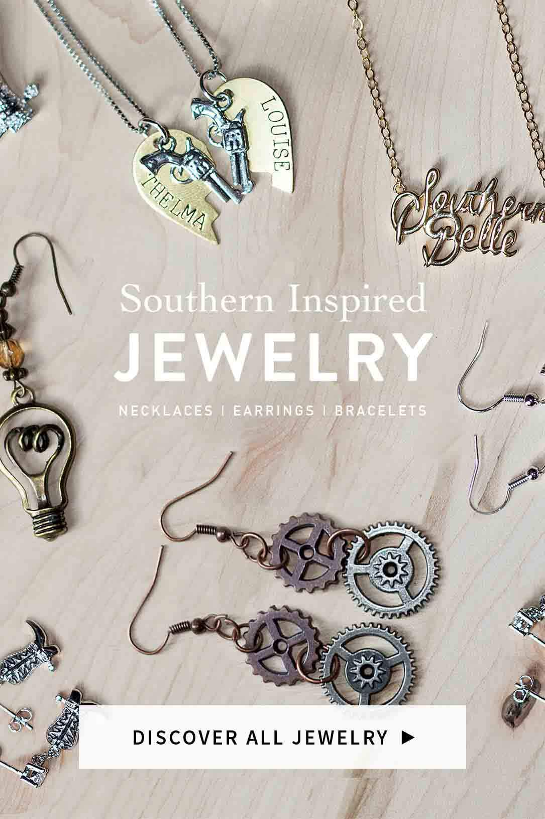 Shop Southern Inspired Jewelry Necklaces Bracelets Rings