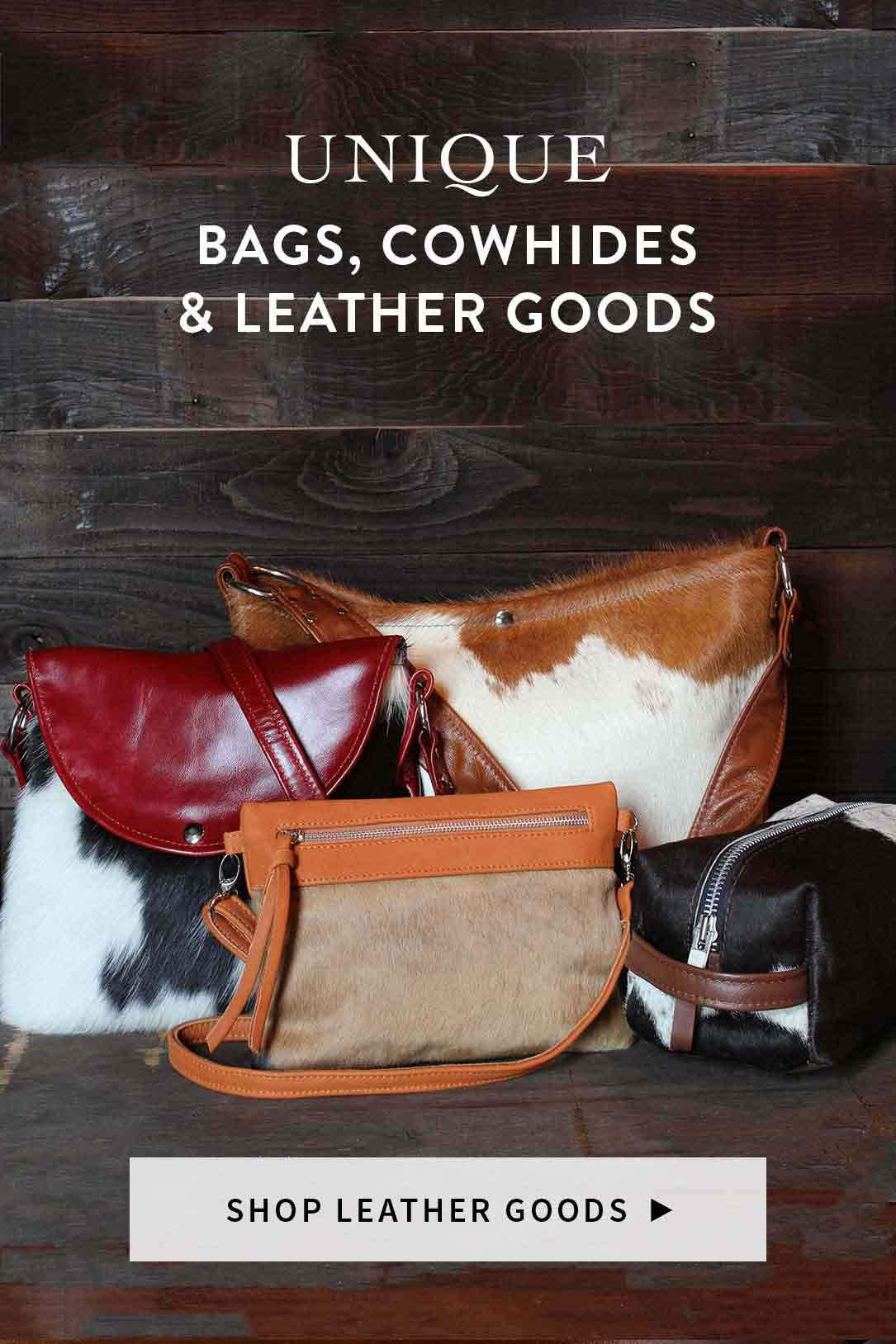 Unique Bags Cowhide Rugs And Leather Goods
