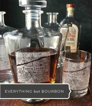 Everything But The Bourbon Unique Barware Collection