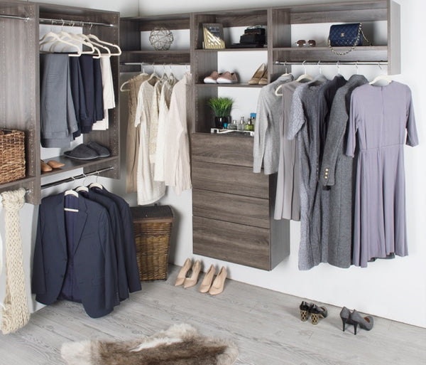 7 Decor Mistakes To Avoid In A Small Home: #ModularClosetDIYs: How To Design A Pallet Wall Closet