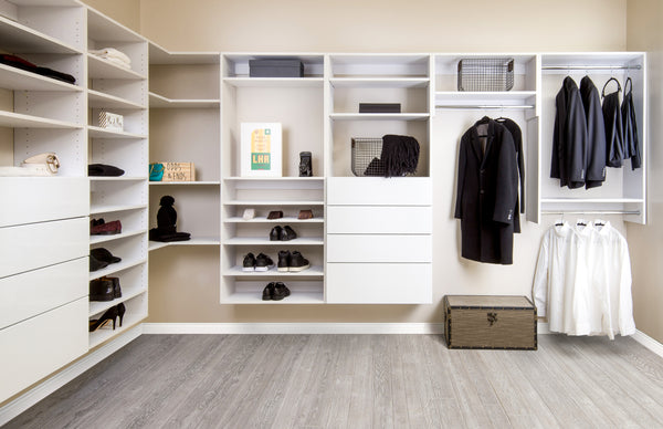 Transform Your Master Bedroom Sitting Area into a Luxury Walk-In Closet