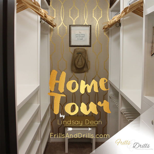 Home Tour :: by Lindsay Dean of FrillsAndDrills.com