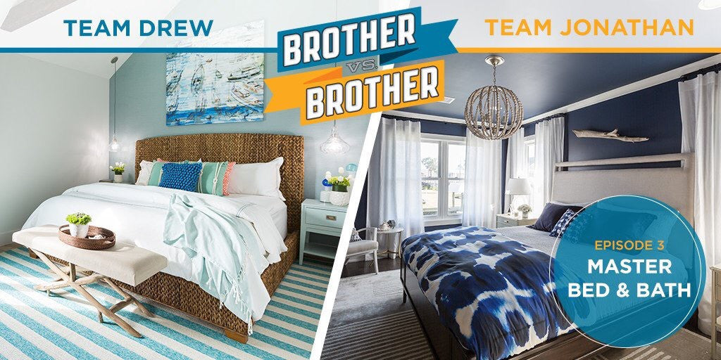 Master Suite Modular Closets Makeover With The Scott Brothers of Brother VS Brother