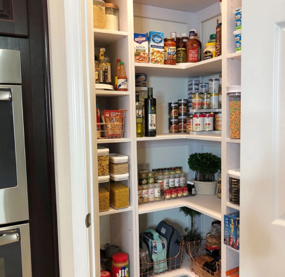 3 Clever Hacks to Create a Classy, Organized Kitchen Pantry