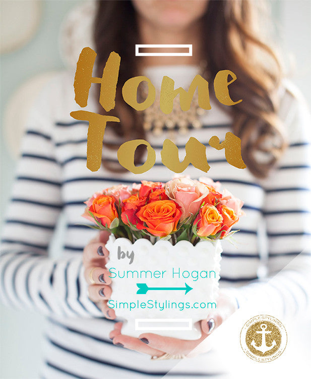 Home Tour :: Summer Hogan of SimpleStylings.com