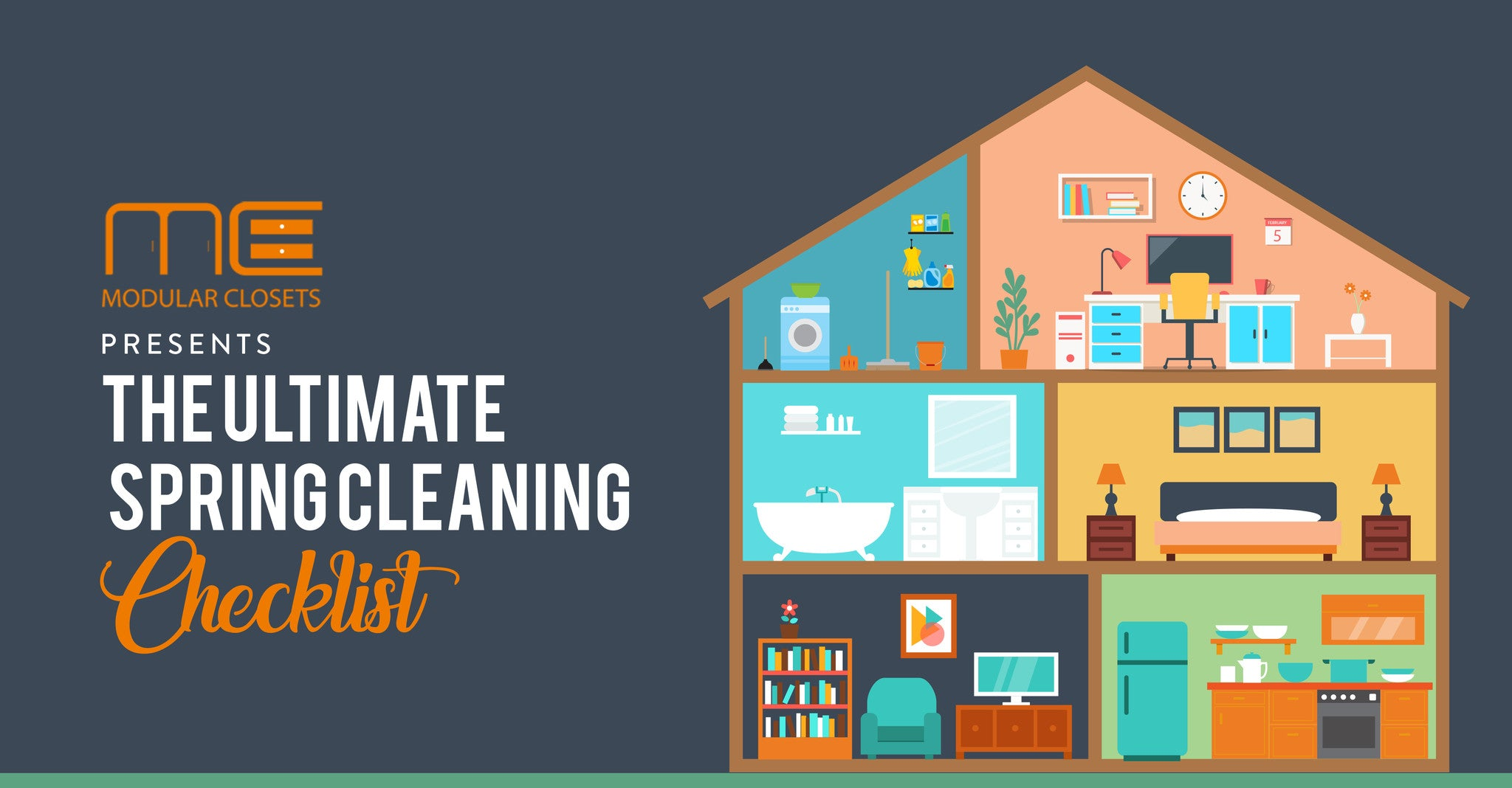 The Most Ultimate Spring Cleaning 2017 Checklist