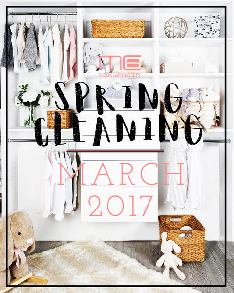 Spring Cleaning 2017 - Modular Closets Update