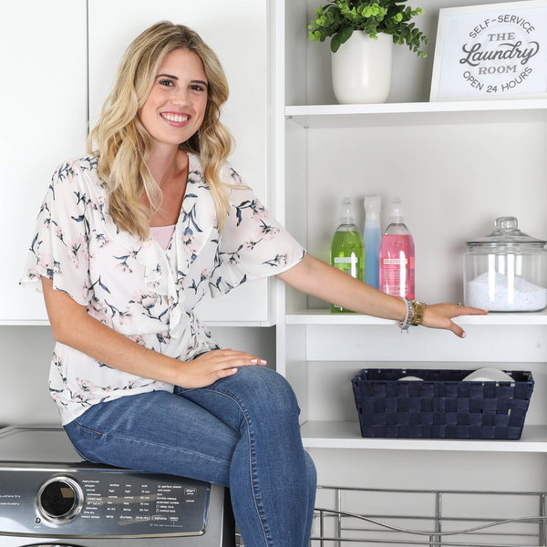 Christina's Corner // A Laundry Room Should Function For You