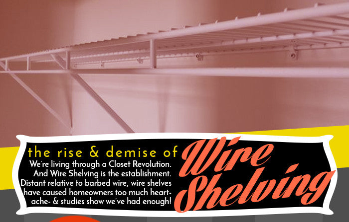 Why People Hate Wire Shelves Part 2: A History Of Wire Shelving Hatred