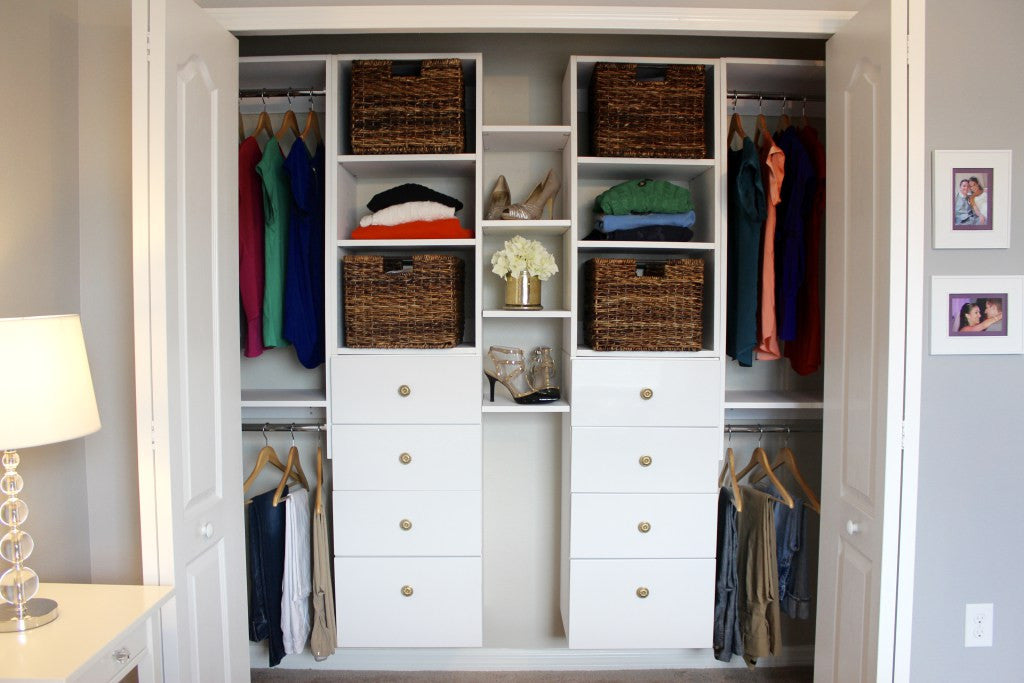 Modular Magic Makeovers: Lindsay Dean's latest Closet Re-Do