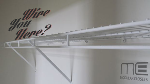 Why People Wire Shelves - Modular Closets on