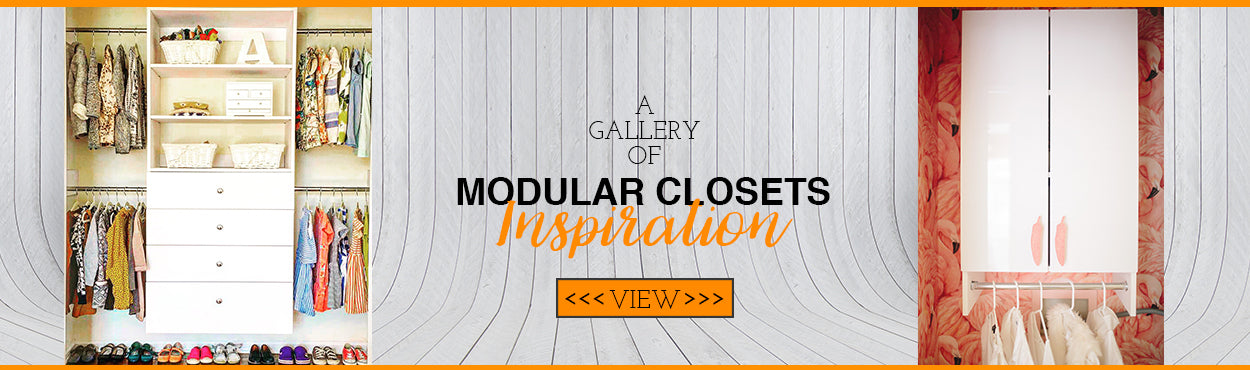 Modular Closets Inspiration Gallery