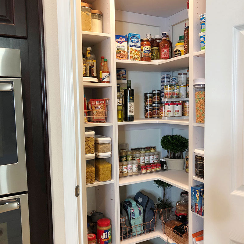 Pantry closet and organizer