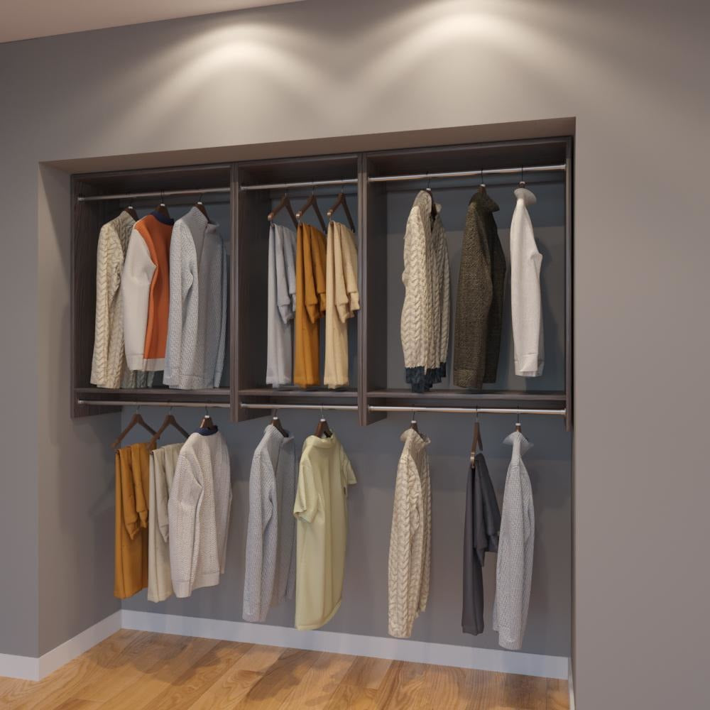 Modular Closets 3 4 034 Plywood 7 FT